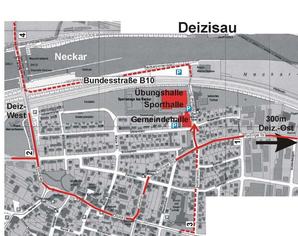 Deizisau / Map of Deizisau